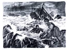 Paul shipwrecked