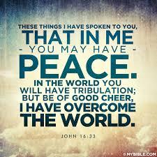 faith John 16-33