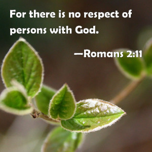 respect of persons