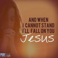 fall on Jesus