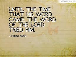 time-of-his-word