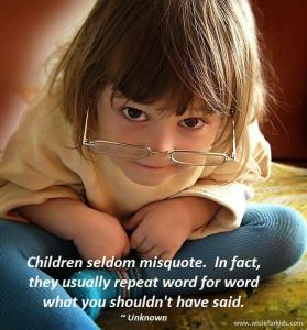 children tell truth