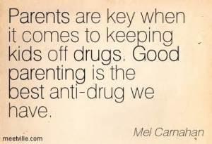 parents off drugs