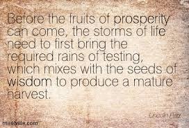 prosperity harvest