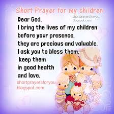 Biblical Prayer for our Children