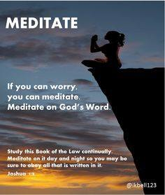 What are you meditating on?