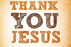 Thank You Jesus!