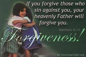 forgive commanded
