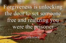 forgive prisoner