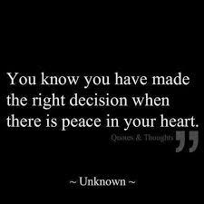peace in heart