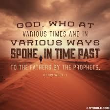 prophecy speaks through prophets