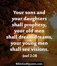 prophesy sons and daughters