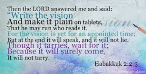 vision Habbakuk