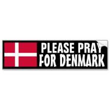 Denmark pray
