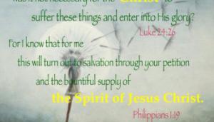 Holy Spirit supply