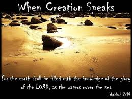 creation speaks