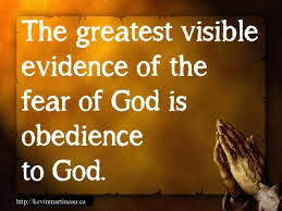 fear obedience