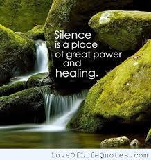 silence healing