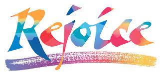 rejoice rainbow letters