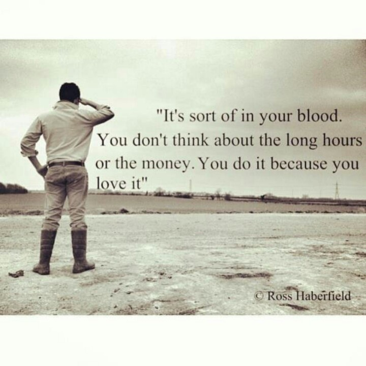 work in your blood