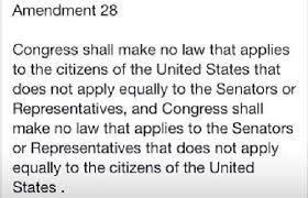28th Amendment