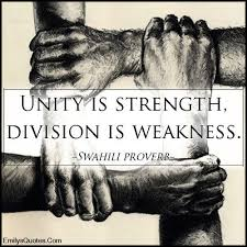 unity strength