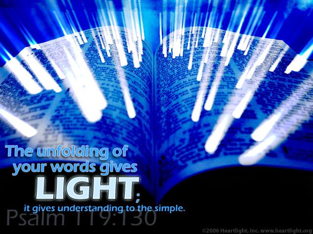 light Psalm 119-130