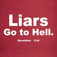 liars go to hell