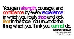 fear confidence