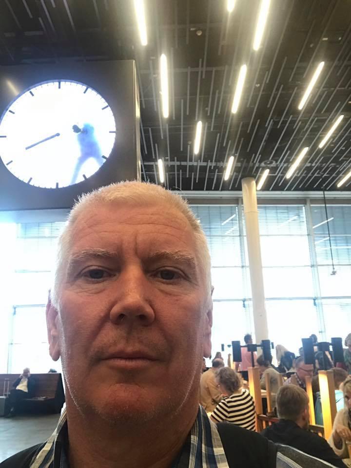 Amsterdam clock guy