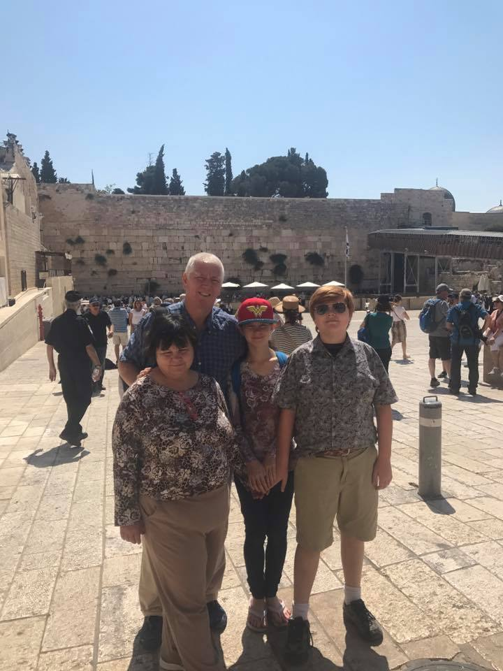 Western Wall family