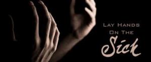 lay hands