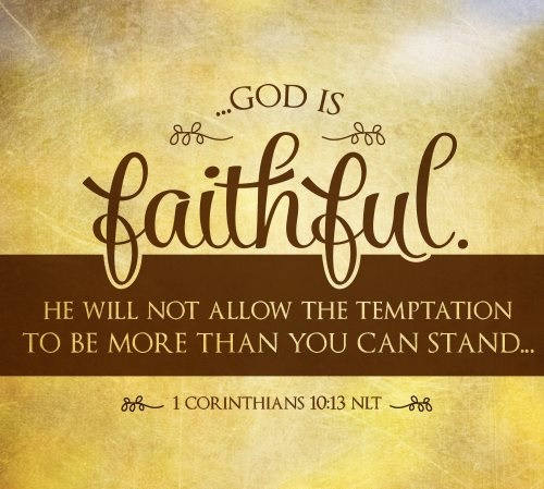 faithful over temptation