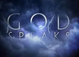 God speaks