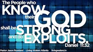 Know God strong exploits